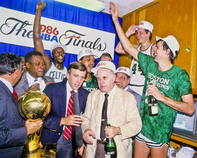 Boston celtics 1986 Championship