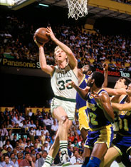 Boston Celtics Larry Bird vs Los Angeles Lakers 1987 NBA Finals