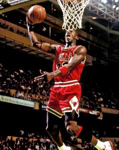 Chicago Bulls Michael Jordan photograph
